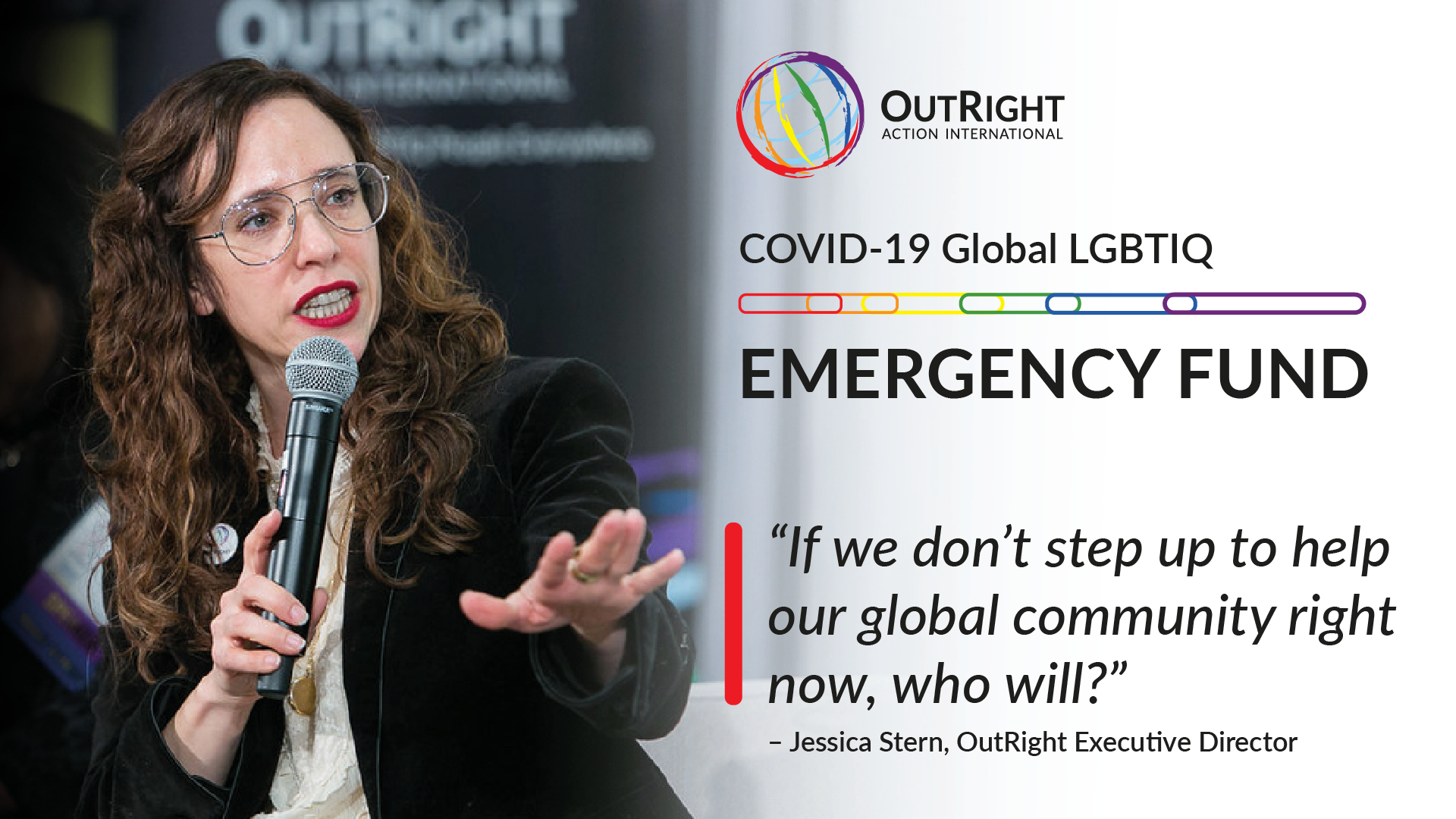 jessica stern, executive director outright