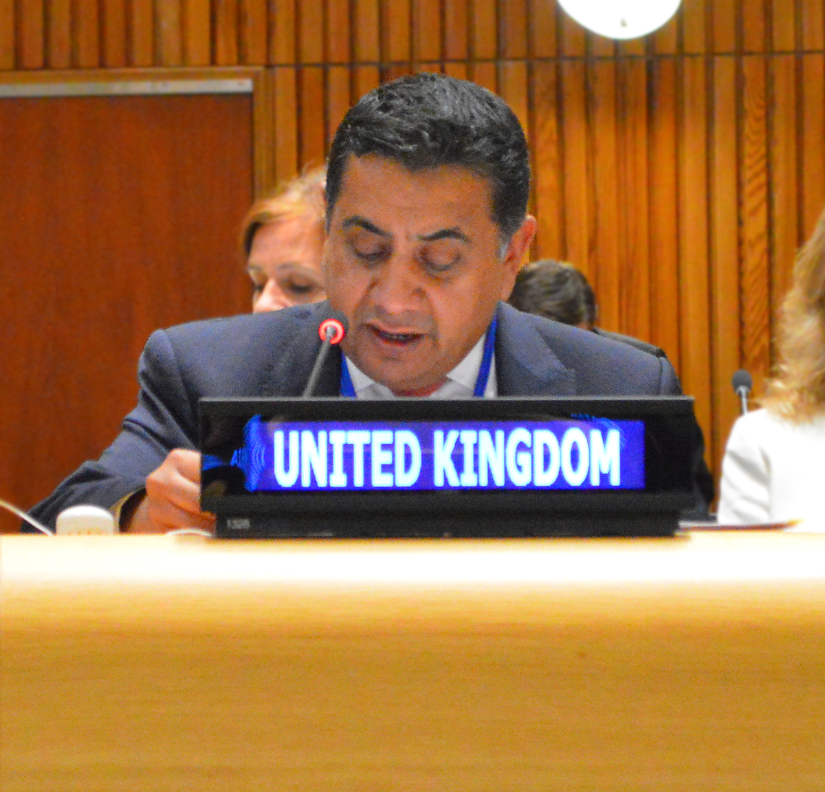Lord Ahmed of Wimbledon at UNGA LGBTI Core Group Event