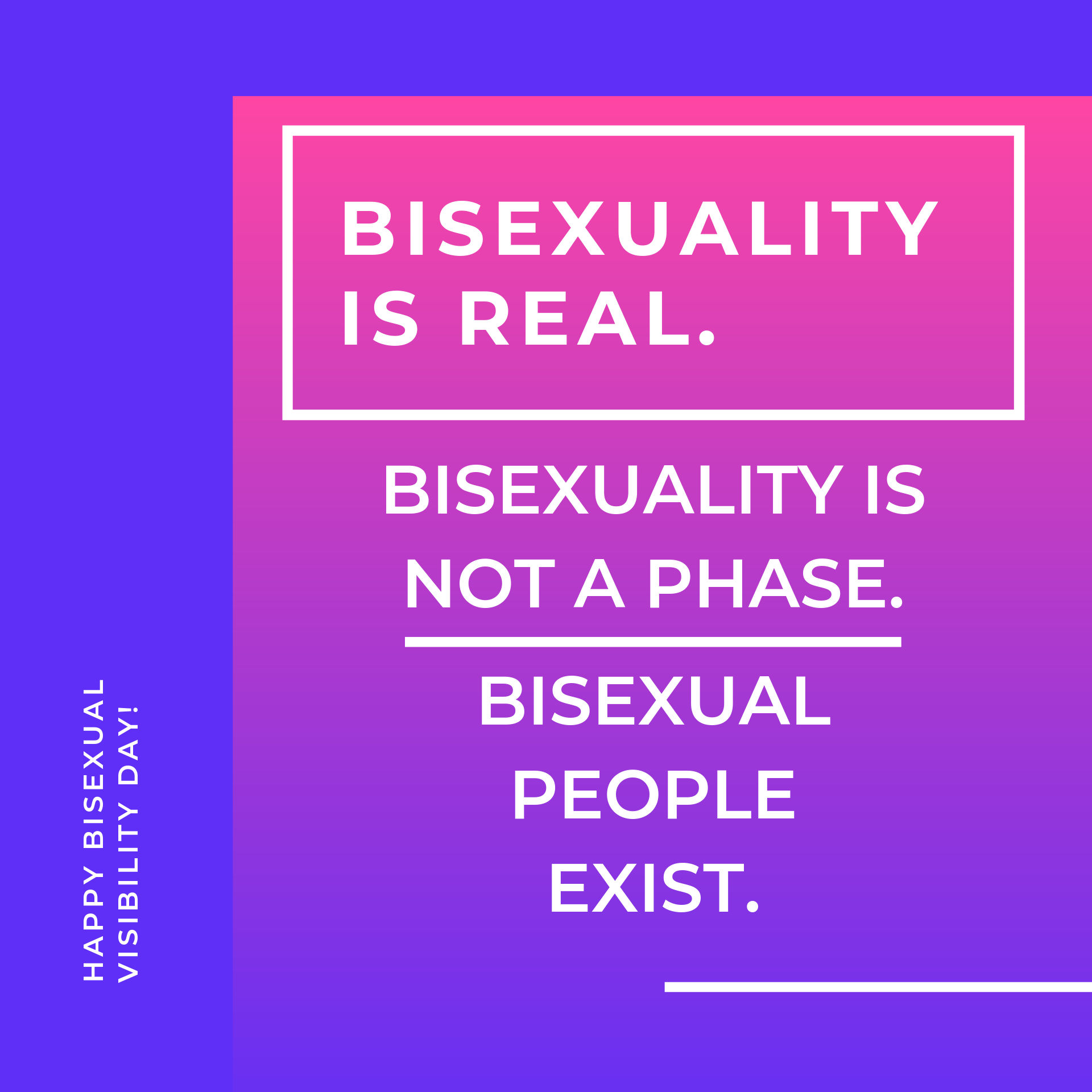 Bisexual Visibility | OutRight Action International