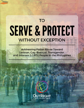 to serve and protect report cover
