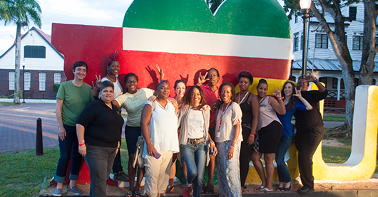 Participants of the Caribbean Women and Sexual Diversity Conference