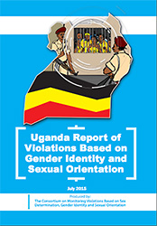 uganda lgbt violations image showing prisons, ugandan flag