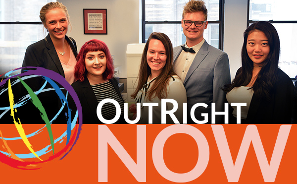 OutRight interns 2016
