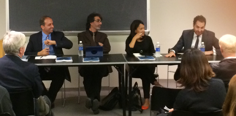 Discussion at CUNY graduate school on LGBT rights in Iran
