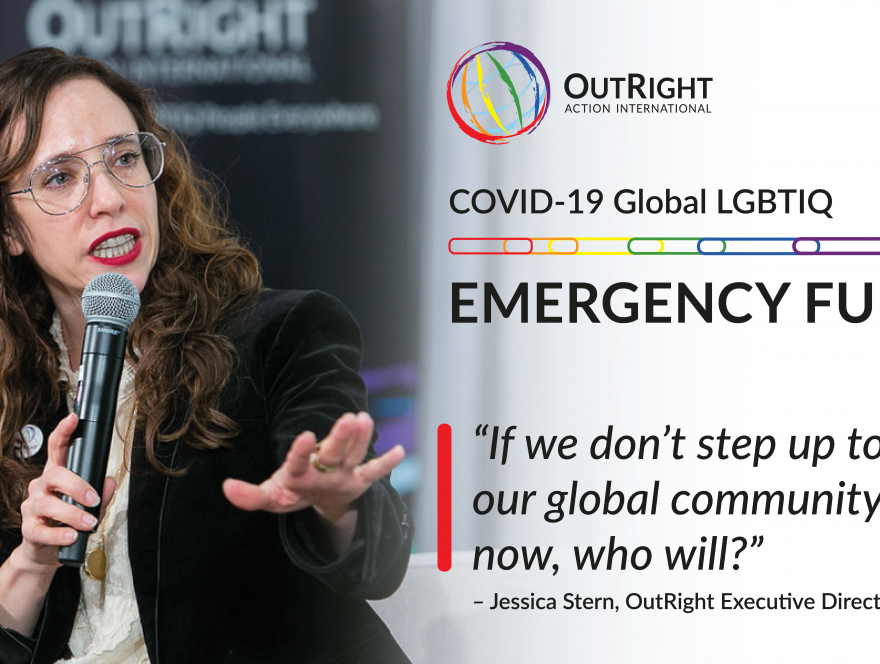 Jessica Stern, Executive Director of OutRight